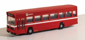 Model Scene OO 5142 Leyland National Single Deck Bus Kit - Vari-kit Bus Red