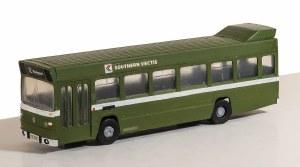 Model Scene OO 5143 Leyland National Single Deck Bus Kit - Vari-kit Bus Green