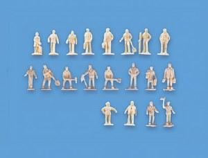 Model Scene N 5156 Unpainted Figures Set A