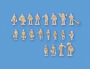 Model Scene N 5157 Unpainted Figures Set B