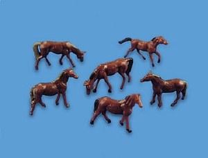 Model Scene N 5178 Horses