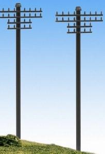 Model Scene N 5182 Telegraph Poles
