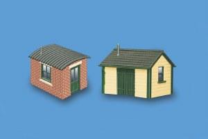 Model Scene N 5185 Lineside Huts