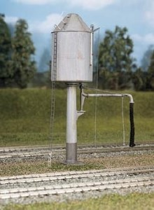 Ratio OO 528 Water Tower GW Pillar conical or flat top
