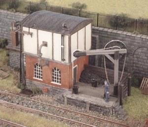 Ratio OO 540 Locomotive Servicing Depot