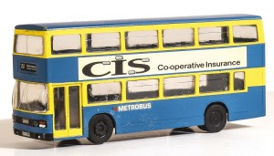 Model Scene OO 5502 Leyland Olympian Double Deck Bus Kit - London Metrobus Livery