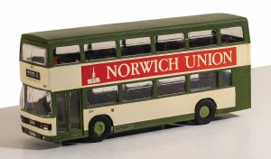 Model Scene OO 5503 Leyland Olympian Double Deck Bus Kit - Blackpool Corporation Livery
