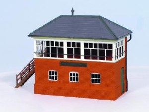 Ratio OO 552 GWR Brick Signal Box