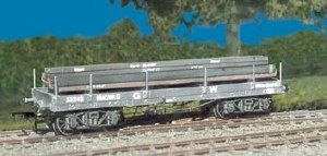 Parkside Models by Peco OO PC562 GWR Bogie Bolster 'A' with girder load