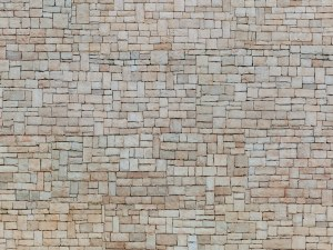 Noch OO 56642 Lime Stone Wall 3D Cardboard Sheet 25 x 12.5cm