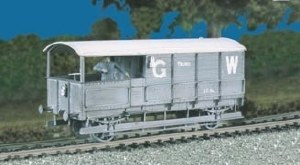 Parkside Models by Peco OO PC569 GWR Brake Van 20t. Toad M/W