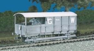 Ratio OO 569 GWR Brake Van 20t. Toad M/W