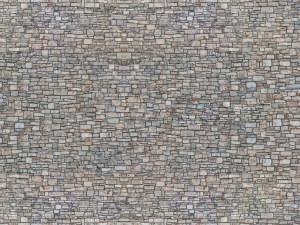 Noch N 56940 Quarry Stone Wall 3D Cardboard Sheet 25 x 12.5cm