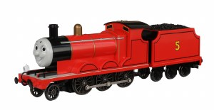 Bachmann Thomas & Friends OO 58743BE James the Red Engine with Moving Eyes