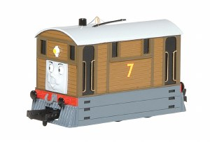 Bachmann Thomas & Friends OO 58747BE Toby the Tram Engine with Moving Eyes
