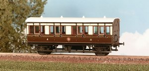 Parkside Models by Peco OO PC612 GWR 4 Wheel Composite