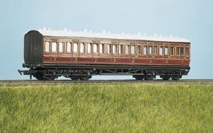 Parkside Models by Peco OO PC710 MR Suburban All 3rd 8 Compartment