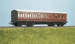 Parkside Models by Peco OO PC714 MR Suburban Brake 3rd 4 Compartment
