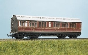 Parkside Models by Peco OO PC720 MR Express Clerestory All 3rd and Luggage