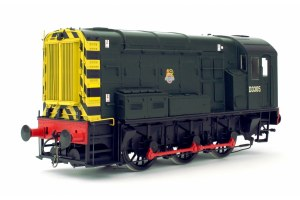 Dapol O 7D-008-008 Class 08 BR Green D3305 Early Crest Wasp Stripes