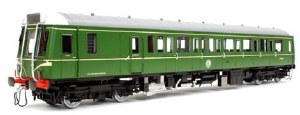 Dapol O 7D-009-001D Class 121 W55020 Green with Speed whiskers DCC Fitted
