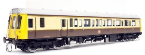 Dapol O 7D-009-005D Class 121 W55029 GWR 150 Chocolate  and Cream DCC Fitted