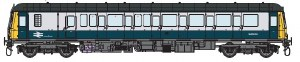 Dapol O 7D-015-001D Class 122 55002 BR Blue & Grey DCC Fitted