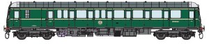 Dapol O 7D-015-002D Class 122 55000 BR Green with Small  Yellow Panel DCC Fitted
