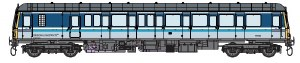 Dapol O 7D-015-003D Class 122 55012 BR Regional Railways DCC Fitted
