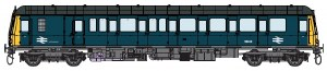 Dapol O 7D-015-004D Class 122 55006 BR Blue DCC Fitted
