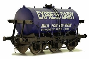 Dapol O 7F-031-001 6 Wheel Milk Tanker Express Dairies