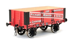 Dapol O 7F-052-002 5 Plank Wagon 9' Wheel Base Richard Webster & Sons 102