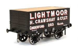 Dapol O 7F-073-003 7 Plank Wagon 9' Wheel Base Three Door Lightmoor 283