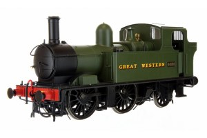 Dapol O 7S-006-001 48xx Class GWR Great Western Green 4800 Auto fitted
