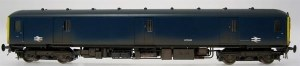 Heljan OO 8922 Class 128 DPU W55992 BR Blue with Yellow Ends Scooby Doo on end