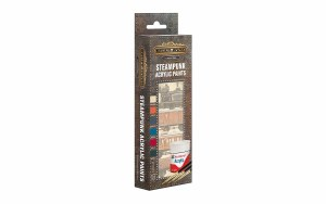 Bassett-Lowke Steampunk Models Other AB9063 Steampunk Paint Pack Gloss Acrylic