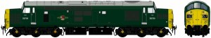 Accurascale OO ACC2303D6704 Class 37/0 D6704 BR Green