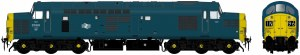 Accurascale OO ACC230437001 Class 37/0 37001 BR Blue