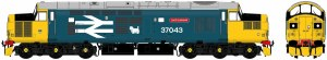 Accurascale OO ACC230637043DCC Class 37/0 37043 'Loch Lomond' BR Blue