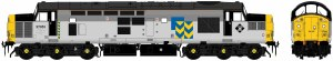 Accurascale OO ACC231137051DCC Class 37/0 37051 BR Railfreight Metals Sector