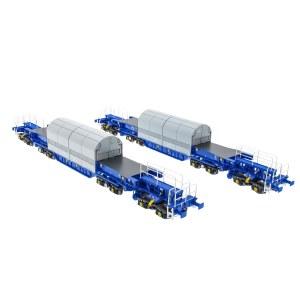 Accurascale OO ACC2400KUA KUA Nuclear Flask Carrier Twin Pack