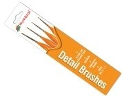Humbrol Other AG4301 Brush pack - Triangle Handle