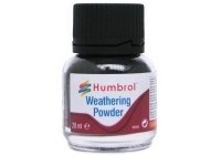 Humbrol Other AV0004 Weathering Powder 28ml - Smoke