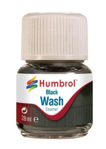 Humbrol Other AV0201 28ml Enamel Wash - Black