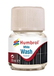 Humbrol Other AV0202 28ml Enamel Wash - White