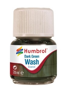 Humbrol Other AV0203 28ml Enamel Wash - Dark Green