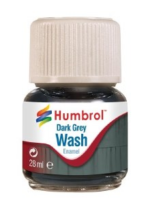 Humbrol Other AV0204 28ml Enamel Wash - Dark Grey
