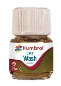 Humbrol Other AV0207 28ml Enamel Wash - Sand