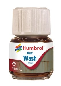 Humbrol Other AV0210 28ml Enamel Wash - Rust