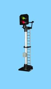 Berko OO B228 2 Light Signal Red/Green Standard Square Head